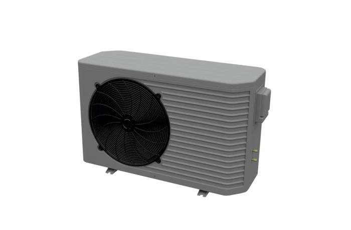 Basenowa pompa ciepła