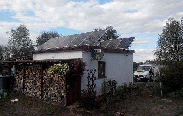 Instalacja fotowoltaiczna o mocy 2,5 kW