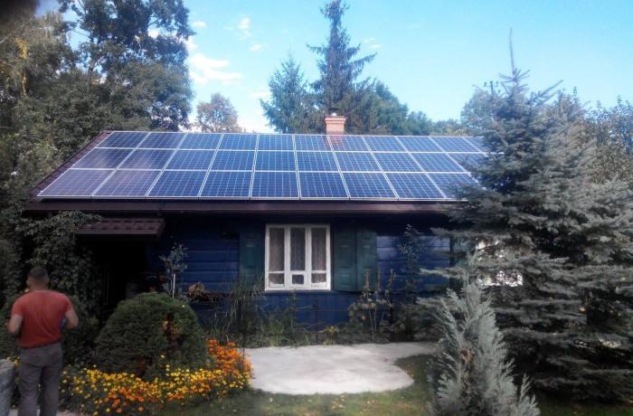 Minielektrownia fotowoltaiczna o mocy 8 kW