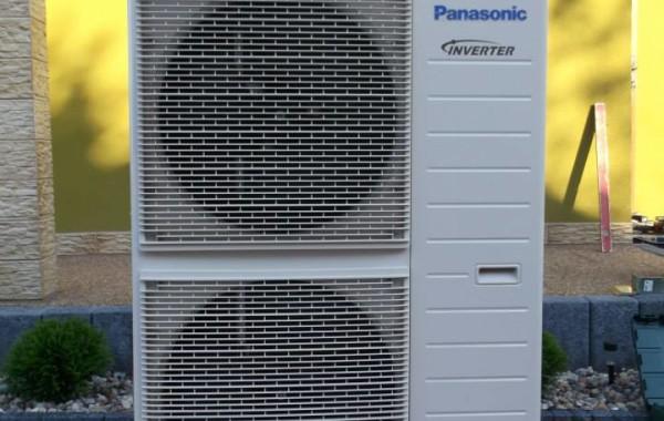 Montaż pompy ciepła powietrze- woda do ogrzewania budynku