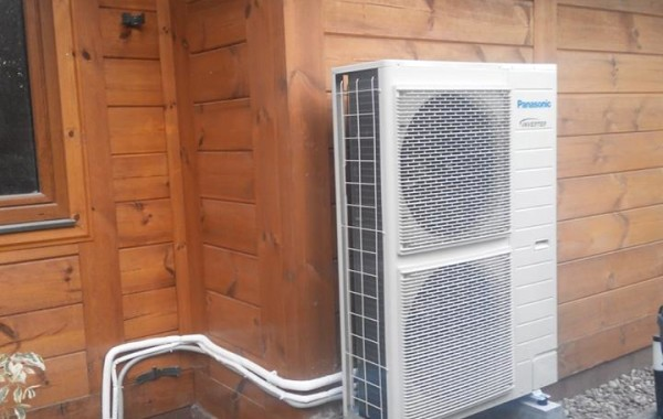 Powietrzna pompa ciepła Panasonic Aquarea T-CAP 12 kW