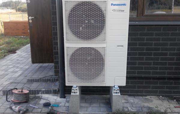 Pompa ciepła Panasonic 12 kW T-CAP 3 fazy