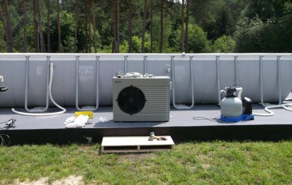 Pompa ciepla do wody basenowej Hewalex